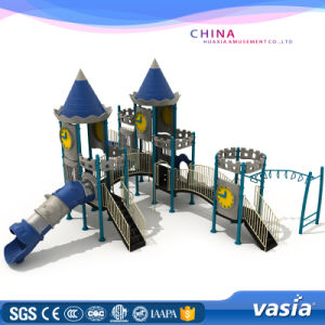 Popular Kid Playhouse Slide Outdoor Playground Equipment pictures & photos