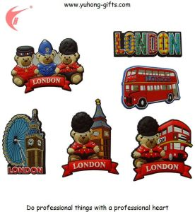 Factory Price Rubber Refrigerator Magnet for Gifts (YH-FM081) pictures & photos