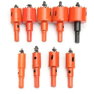 9PCS M42 16-38mm HSS Drilling Hole Saw Cutters pictures & photos