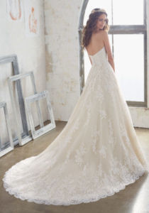 2014 A-Line Lace Bridal Wedding Dresses Ctd502 pictures & photos
