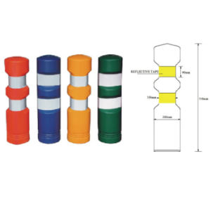 750mm Round Bollard Delineator with Hi Tape pictures & photos