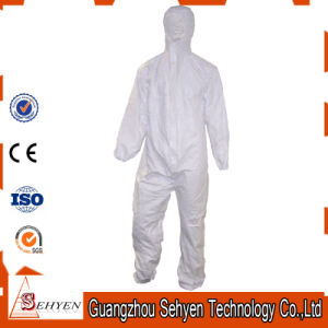 PP/PP+PE/SMS/Sf Non-Woven Disposable Protective Microporous Coverall pictures & photos