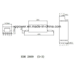 EDR2809 5+3 Pins LED Lighting Transformer pictures & photos