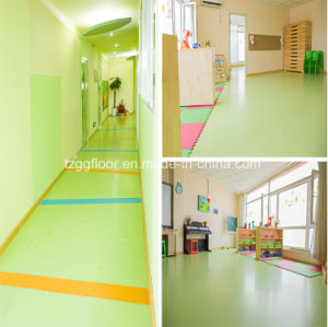 Safe Ecofriendly Magical PVC Flooring for Children Liquid Colorful Floor pictures & photos
