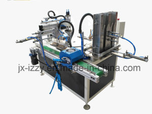 Automatic pneumatic Carousel Rotary Silk Screen Printing Machine for Lighter Making Machinery pictures & photos