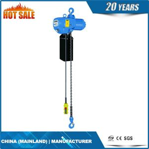 1t Double Speed Electric Chain Hoist for Jib Crane pictures & photos