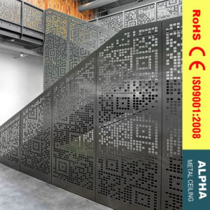 Customized Metal Facade Interior Aluminium Wall Decoration and Stairs Claddings pictures & photos