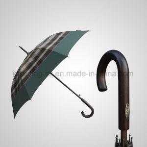 Good Quality Automatic Wooden Umbrella Straight Rain/Sun Umbrella (JL-AQT134) pictures & photos