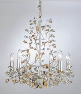 Factory Top Sale Silver Foiled Chandelier pictures & photos