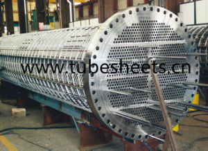 Highly Machined Tube Sheet for Pressure Vessel