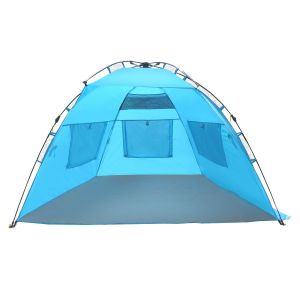Beach Shelter - Instant Easy up Beach Umbrella Tent Sun Sport Shelter