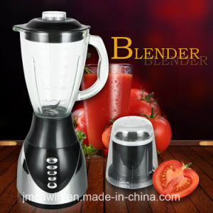 3 Speed 2 in 1 Glass Jar Electric Blender pictures & photos