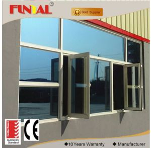 Ce Certification Modern Style Aluminum Frame Window with Tempered Glass Screen Protector pictures & photos