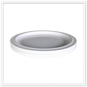 Hotel and Restaurant Use Food Safety Cheap White Dinner Plate pictures & photos