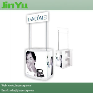Portable Classic Design Plastic Promotion Counter Stand pictures & photos