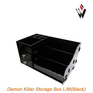 Demon Killer Storage Box L/M Size Black Transparent Color Multifunctional Display Stand