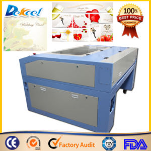 Good Price CO2 Laser Cutter CNC Cutting Paper/Wedding Card Machine pictures & photos
