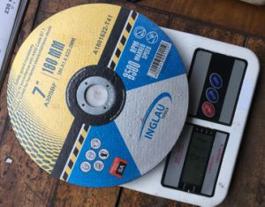 180X1.6X22.2mm Extra Thin Cutting Discs pictures & photos