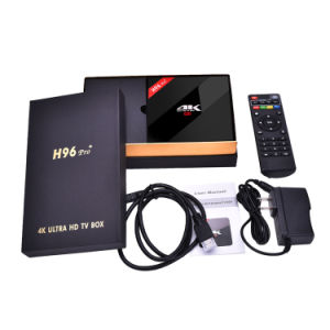 Set Top Box H96 PRO Plus Amlogic S912 Android 6.0 Ott TV Box pictures & photos