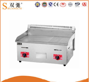 Hot Sela Commercial Gas Griddle Pan with Table Type pictures & photos