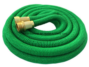 All New 2017 Garden Hose 50 Feet Expandable Hose with All Brass Connectors, 8 Pattern Spray Nozzle and High Pressure, {Improved} Expanding Garden Hose pictures & photos