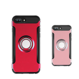 New Shockproof Magnet Ring Case for iPhone 5/6 /7 Plus pictures & photos