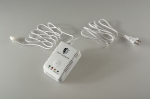 Household Security System Gas Leakage Detector with Solenoid Valve Dn20 pictures & photos