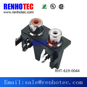 TV Jack Female PCB Mount RCA Socket pictures & photos