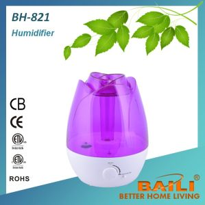 High Quality Ultrasonic Humidifier with Seven Color LED Night Light pictures & photos