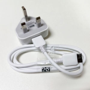 5V 1A EU Us UK Plug AC Car Wall Charger USB Cable Cord pictures & photos