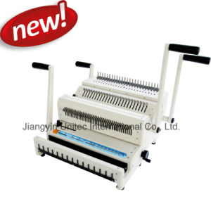 Combination Manual Comb and Wire Book Binding Machine Best Selling Cw2500