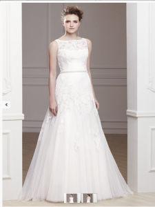 2017 Lace A-Line Bridal Wedding Dresses Z003 pictures & photos