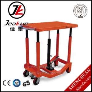 Capacity 455kg Durability and Stability Hydraulic Electric Lift Table pictures & photos