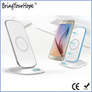 3 Coils Wireless Charger with Phone Holder (XH-PB-237) pictures & photos