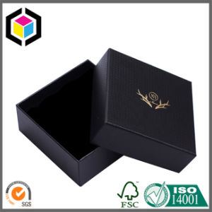 Gold Logo Print Drawer Style Cardboard Rigid Paper Gift Box pictures & photos