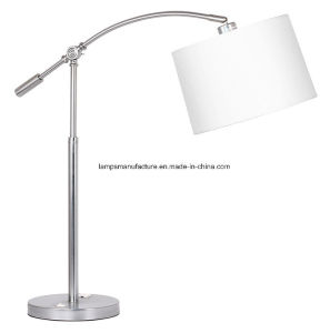 Brush Nickel Finish Table Lamp with UL and cUL Certificate pictures & photos