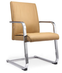 Stainess Steel Durable PVC Leather Conference Computer Chair (NS-6C012) pictures & photos