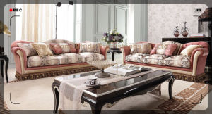 Classical Fabric Sofa for Traditional Home Living Room S6950 pictures & photos