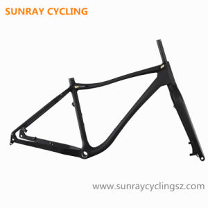 High Stiffness Carbon Fat Bike Frame Mountain Bike Frame pictures & photos