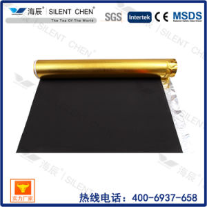 3mm Black EVA with Golden Film Carpet Underlayment pictures & photos