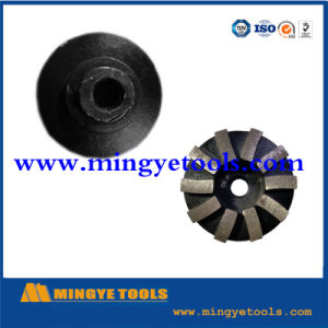 Diamond Abrasive Magnetic Grinding Shoe for Concrete pictures & photos