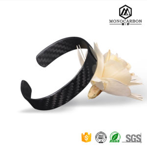 2017 Luxury Fashion Carbon Fiber Love Bracelet for Men Hotsale in China pictures & photos