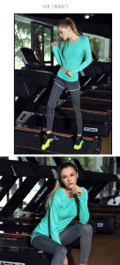 OEM High Quality Sports Wear Gray Jogging Leggings for Summer pictures & photos