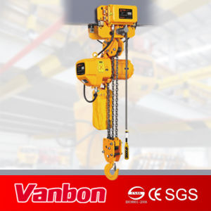 3ton Motorized Trolley Type Electric Chain Hoist with Overload Limit pictures & photos