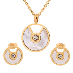 Hot 316L Stainless Steel Jewelry Women Fashion Jewelry Set pictures & photos