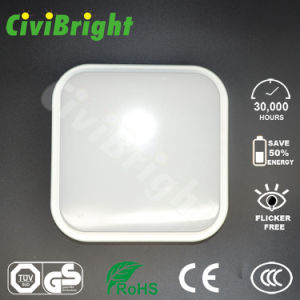 IP64 15W Squre LED Moisture-Proof Bulkhead Outdoor Lamp pictures & photos
