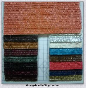 Synthetic PVC Leather Faux Leather for Bag pictures & photos