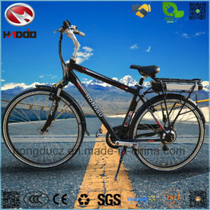 Alloy Frame Electric Mountain Bicycle with Hydraulic Suspension pictures & photos