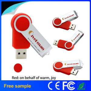 High Quality 100% Real Capacity Swivel USB 2.0 Flash Drive pictures & photos
