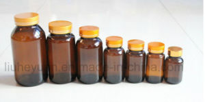Amber Pills Pharmaceutical Medical Wide Mouth Glass Bottle 60ml---500ml pictures & photos